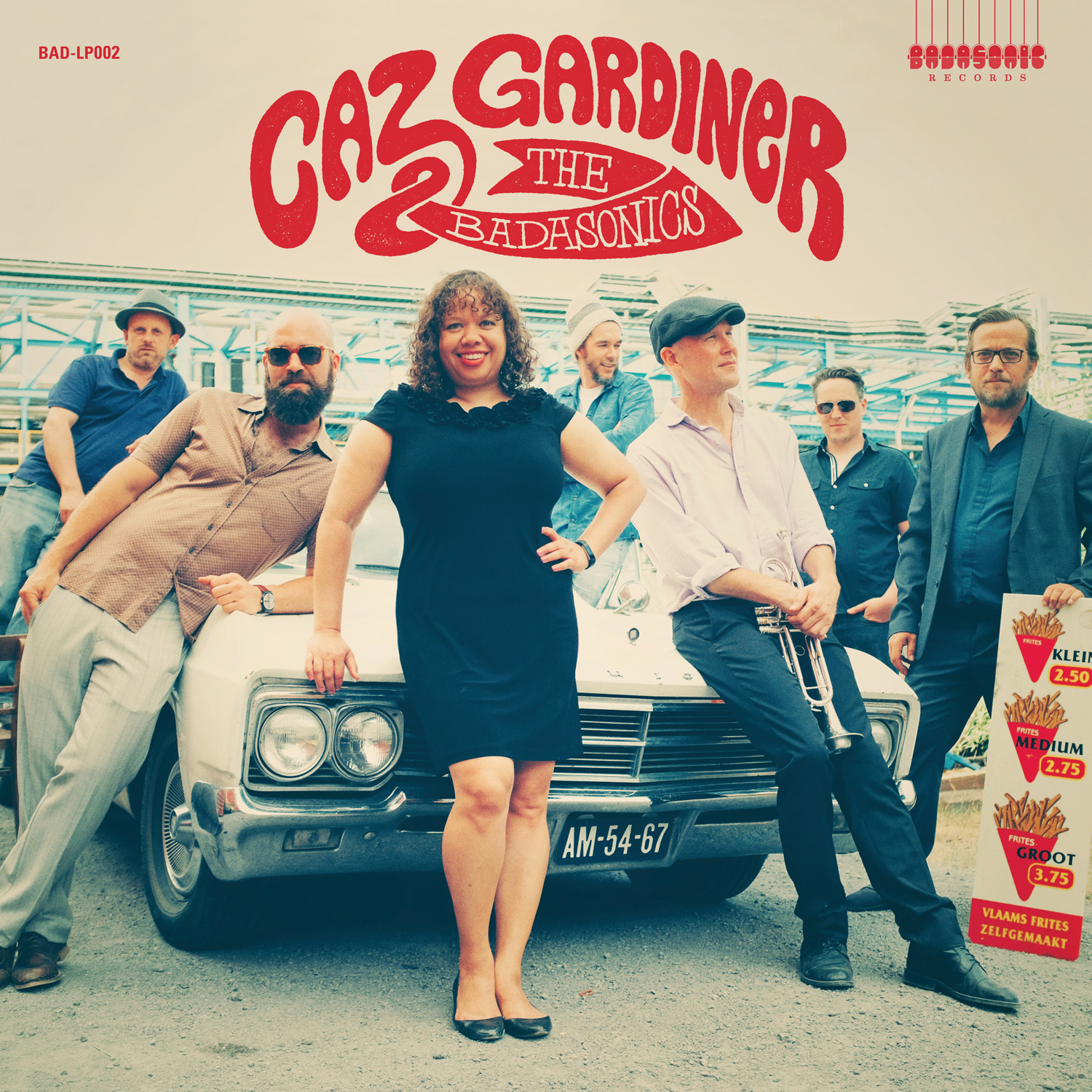 Caz Gardiner & The Badasonics