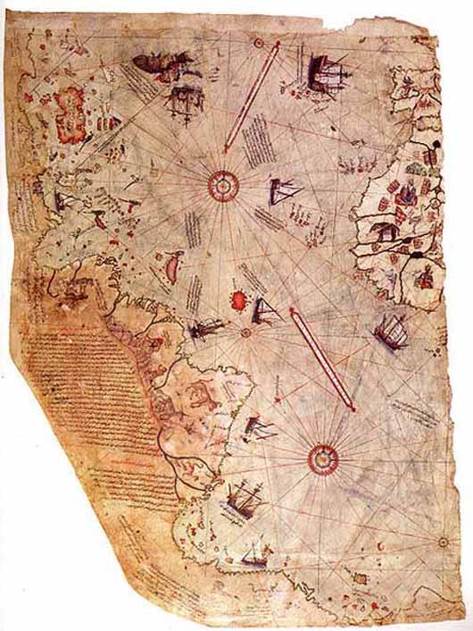 Piri Reis world map (1513)