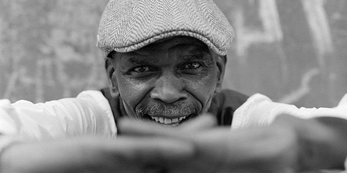 Ray Phiri, the legendary South-African Jazz musician and founder of Stimela.